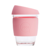 Joco Reusable Glass Cup Regular 12oz/340ml - Strawberry