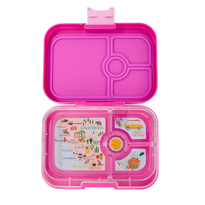 Yumbox Leakproof Lunchbox Panino Malibu Purple Open