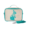 So Young Insulated Lunchbox -  Aqua Bunny