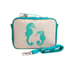 So Young Insulated Lunchbox -  Aqua Seahorse