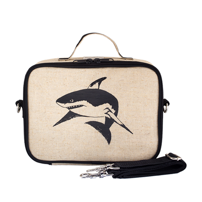 So Young Insulated Lunchbox -  Black Shark