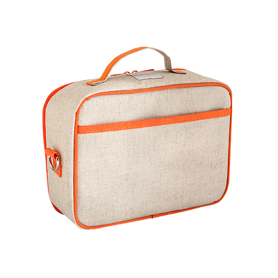 So Young Insulated Lunchbox -  Orange Giraffe