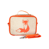 So Young Insulated Lunchbox -  Orange Fox