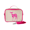 So Young Insulated Lunchbox -  Pink Fawn
