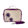 So Young Insulated Lunchbox -  Purple Dandelion