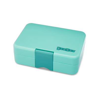 Yumbox Leakproof Lunchbox Mini Snack Surf Green Closed
