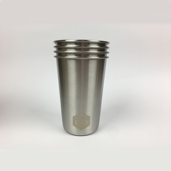 Ever Eco Stainless Stainless Steel Drinking Cups 4 Pack