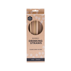 ever ECO  Bamboo Drinking Straws 4 Pack Straight