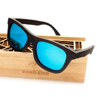 Wooden Sunglasses Luxury Brand Design Square With Polarised Glasses For Men