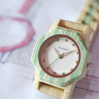 Wooden Watches with crystal dial for Women Australia