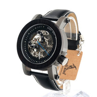 Automatic Mechanical Wooden Watch Classic Style Luxury Men Bamboo Wooden watch