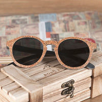 Sunglasses Wooden Cork Frame Polarized Sun Glasses UV Protection