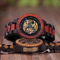 Mechanical Wooden Watch Luxury Wooden For Men
