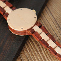 Sandal Wood Watch for Women Watches Top Brand Luxury
