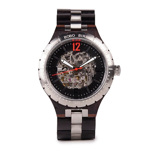Luxury Mechanical Watch for Men With Water Resistant Stainless Steel Automatic Watch