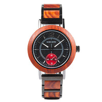 Wooden Watches Top Brand Luxury Stylish Quartz Watch