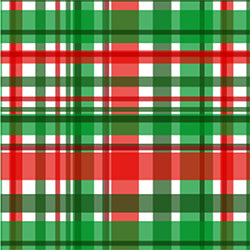 Christmas Candy Plaid - 8.5 x 11 in