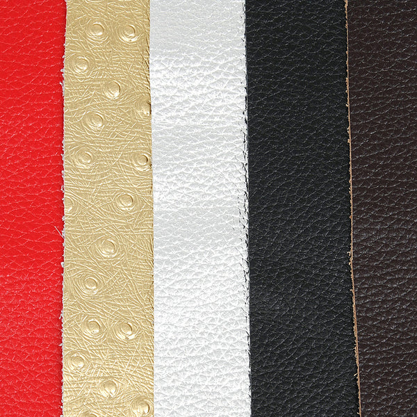 Cow Leather Craft Pieces-Solid Color