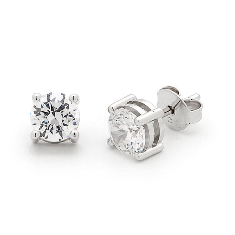 Round Brilliant Cut Diamond Studs