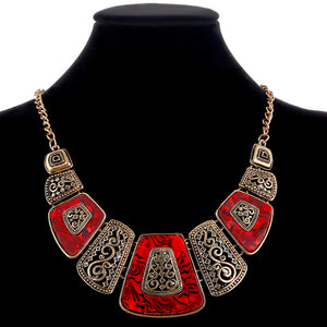 Bohemian Choker Necklace Statement Power Necklace For Women (many variations)