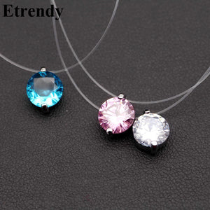 Zirconia Choker Necklace for Women