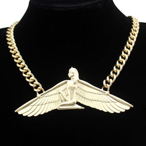 Goddess Isis Ankh Necklace Pendant