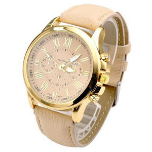 Luxury Women Watch with Leather Brand in different variations