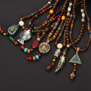 Buddhist Necklace Pendants Necklace (many variations)