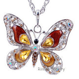 Butterfly Necklace 6 colors available