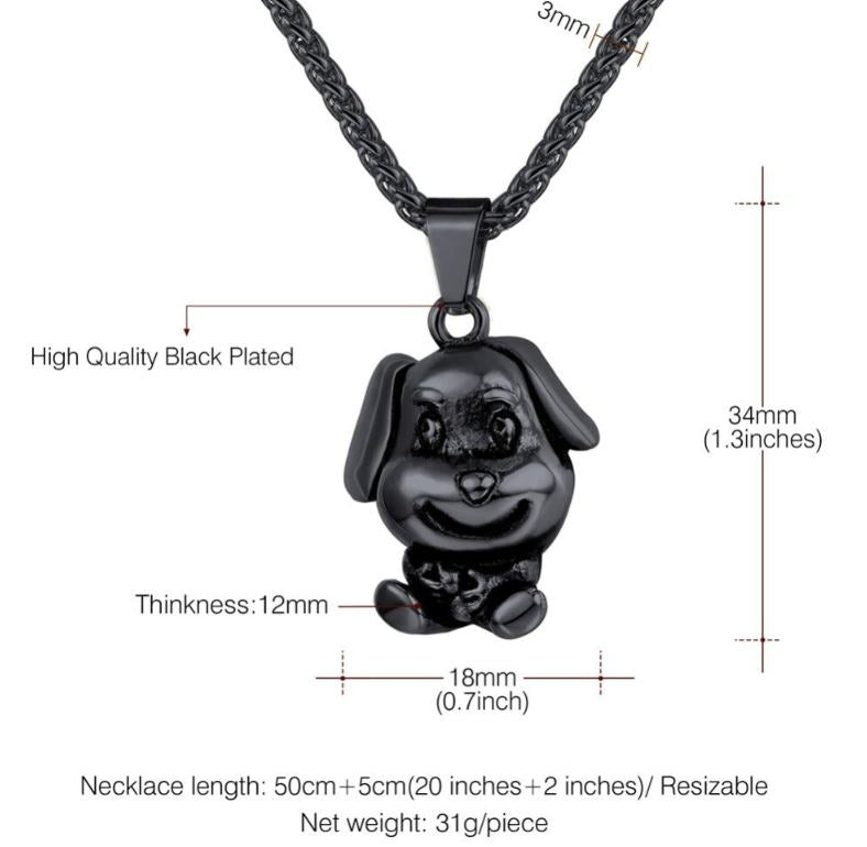 Dog Statement Necklaces & Pendant Charm For Women/Men