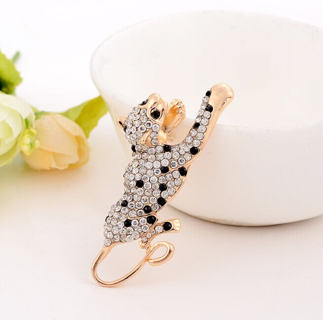 Butterfly Rhinestone Brooch with Rhinestones and Zirconia and other variations