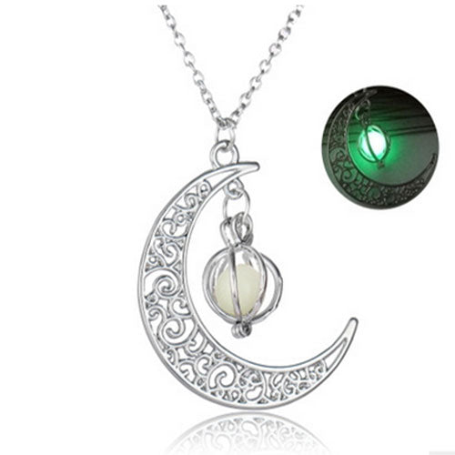 Women's Luminous Stone necklaces