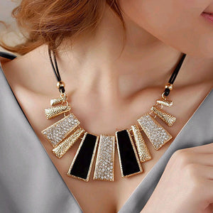 High Quality Design Beads Enamel Power Necklace Statement Necklace