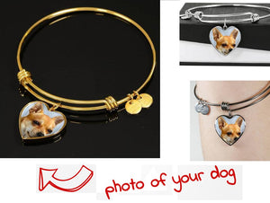 Own Designed Luxury Dog Bracelet Made In USA