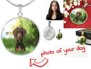 Own Designed Luxury Dog Necklace Made In USA