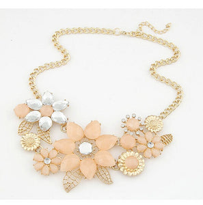 Top Trendy Power Necklaces For Women Bright Flower