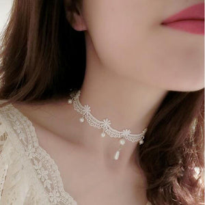 Woman Gothic handmade fashion Choker necklace