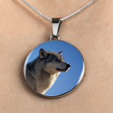 Luxury Wolf Pendant Necklace Or Wolf Bracelet (Made in USA)