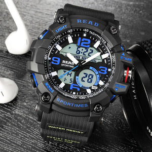 TOP Sports Military wrist men watches
