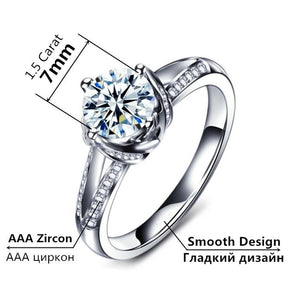 Ring For Women AAA Zircon Jewelry