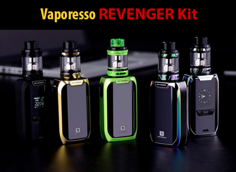 Vaporesso Revenger Kit with TPD 2ml NRG Tank Gold