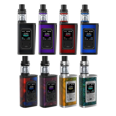 SMOK Majesty Kit 2ml TPD Red Carbon
