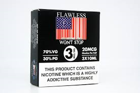 Won't Stop by Flawless 3x 10 ml