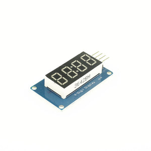 4 Digit 7 Seven Segment Tube LED Display Module TM1637 For Arduino Raspberry PI