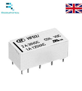 5V Coil Bistable Latching Relay DPDT 2A 30VDC  - High Quality