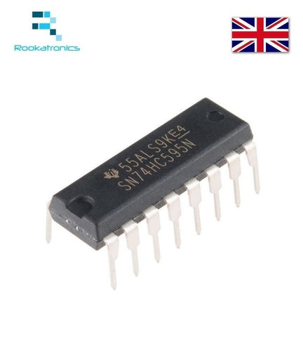 IC 74HC595 74595 SN74HC595N 8-Bit Shift Register DIP-16 Brand New