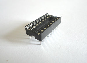New 16 Pin DIP IC Socket Adapter Solder Type - High Quality