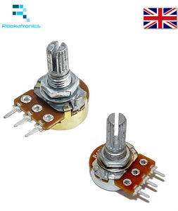 Variable Resistor Adjustable Resistance Linear Taper Potentiometer B1K to B1M