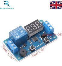 New 12VDC Delay Timer Control Switch/Relay Module with LED Digital Display