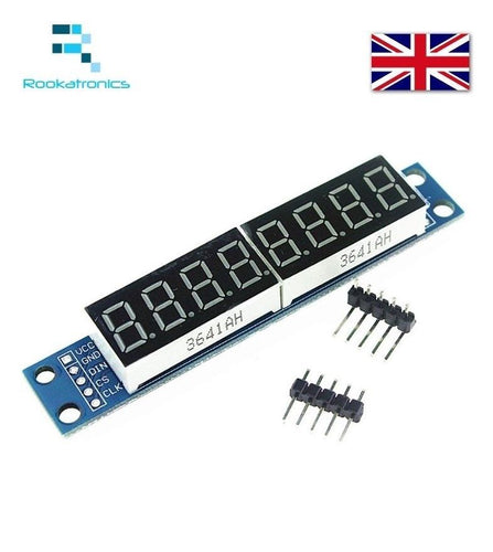 NEW Digital Tube MAX7219 LED Module 8 Digit 7 Segment Display Module